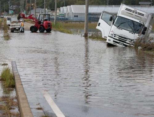 夏の豪雨、備えは大丈夫?水没被害が続発した車と図書館の対策